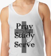 Pray Study Serve Tank Top