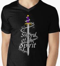 Sword of the Spirit Men's V-Neck T-Shirt