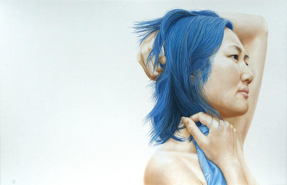 Blue (pastel) by modernlifeform