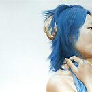 Blue (pastel) by modernlifeform