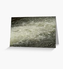 Bubbly Waters Greeting Card
