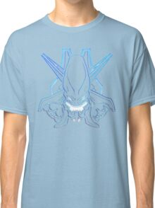 Halo - Legendary Logo (Neon Light Effect) Classic T-Shirt