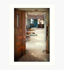 Kings Park Psychiatric - Never leave  Art Print