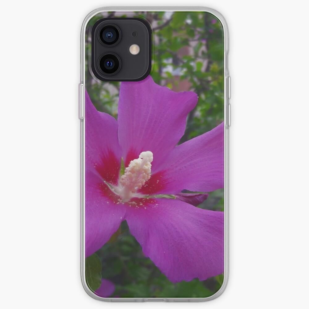 Purple Hibiscus iPhone Case & Cover
