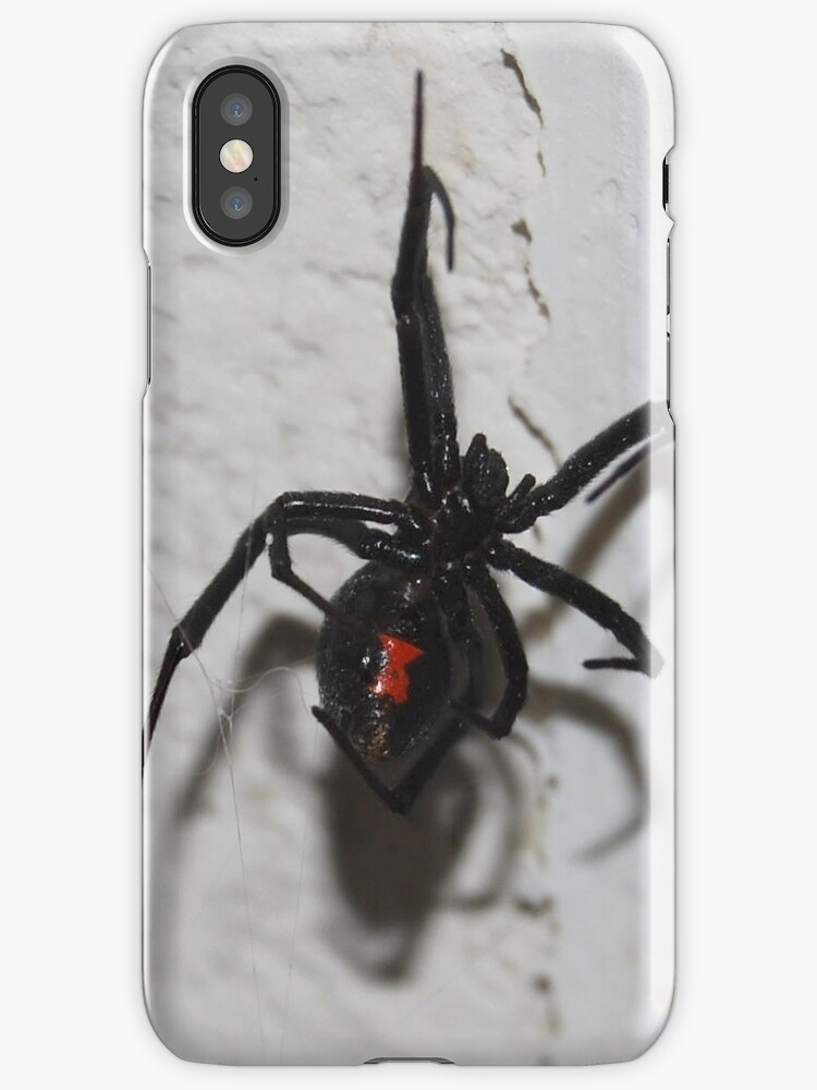 Widow iPhone Case by Ronald Hannah