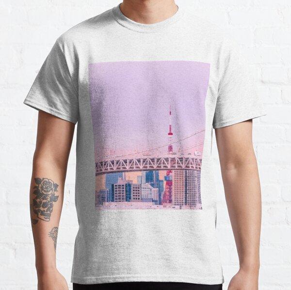 Tokyo Tower au crépuscule T-shirt classique