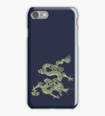 Golden Chinese Dragon iPhone Case iPhone Case/Skin