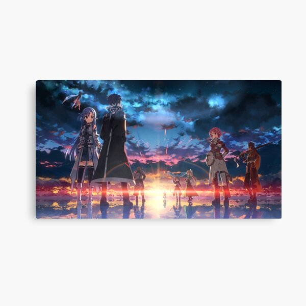 Sword Art Online Impression sur toile