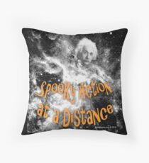 Spooky Action at a Distance Throw Pillow