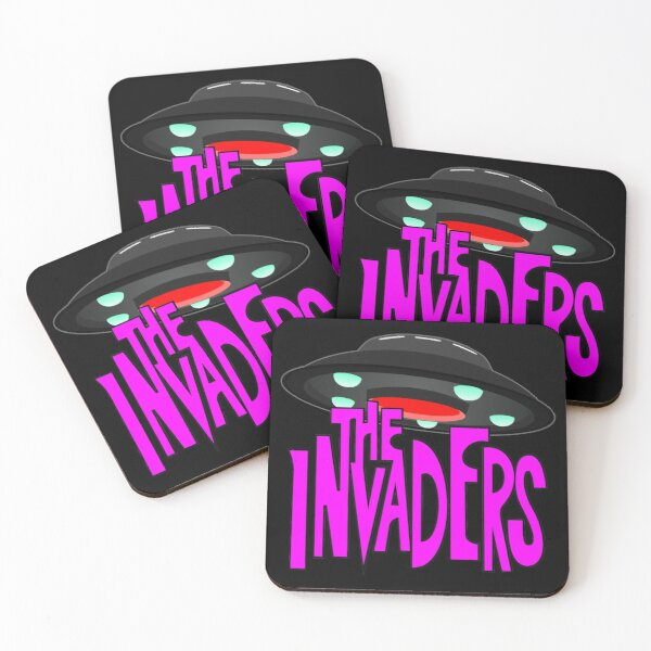 The Invaders Coasters (Set of 4)