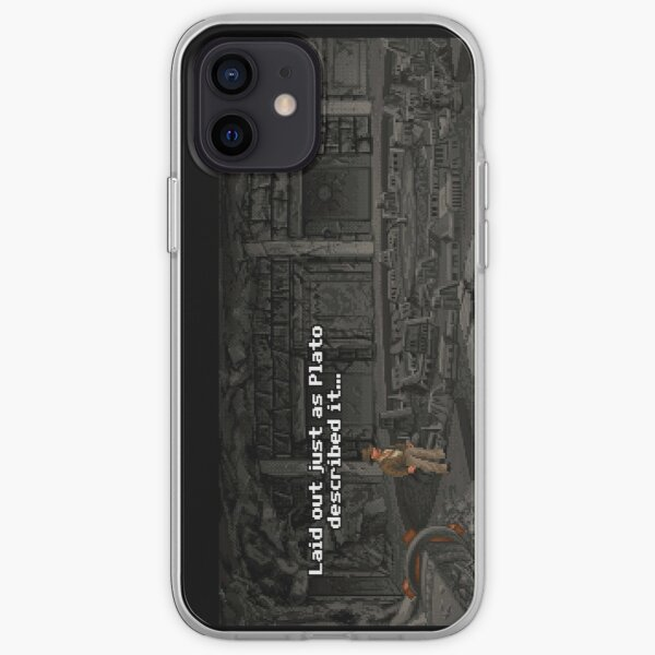 Just As Plato Described It iPhone Soft Case