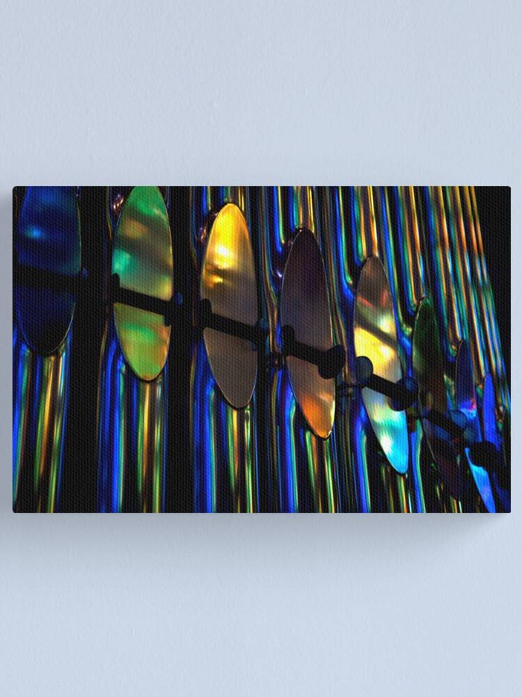 Alternate view of Organ Pipes, Barcelona 2011 Canvas Print