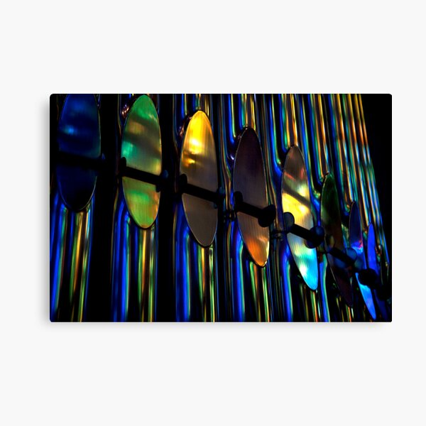 Organ Pipes, Barcelona 2011 Canvas Print