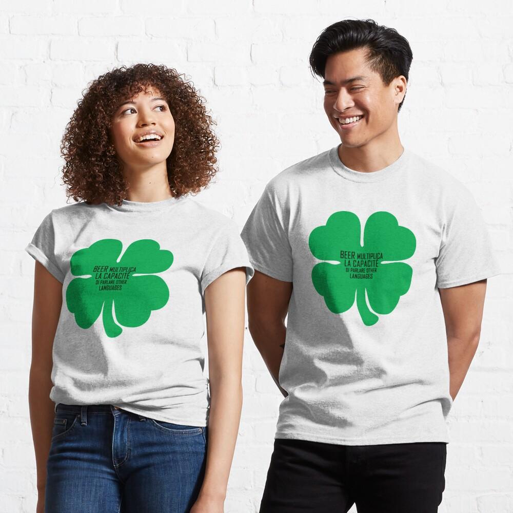 Funny shirt, St Patricks Day, Beer shirt, Shamrock Classic T-Shirt