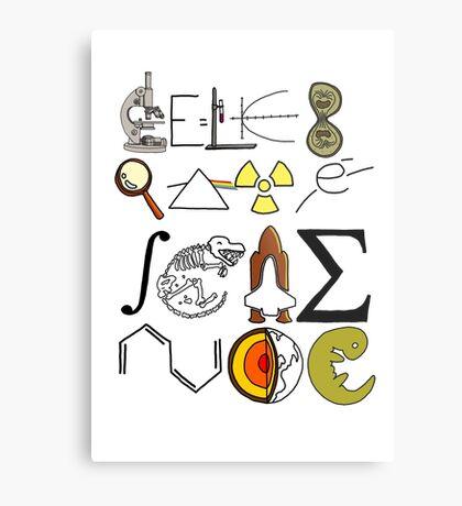 Celebrate Science. Metal Print