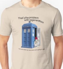 Regeneration problems for the Doctor Unisex T-Shirt
