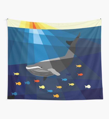 Whale Wall Tapestry