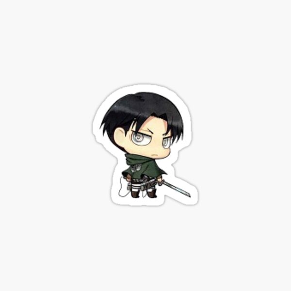 Attack on Titan - Chibi Levi Sticker