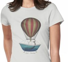 Seek Sanctuary - The Whales Womens Fitted T-Shirt