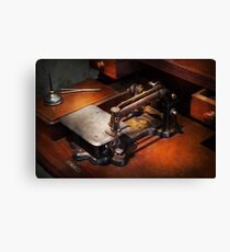 Sewing Machine - Sewing for small hands  Canvas Print