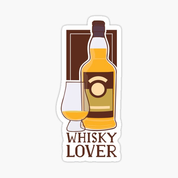 AMATEUR DE WHISKY Sticker