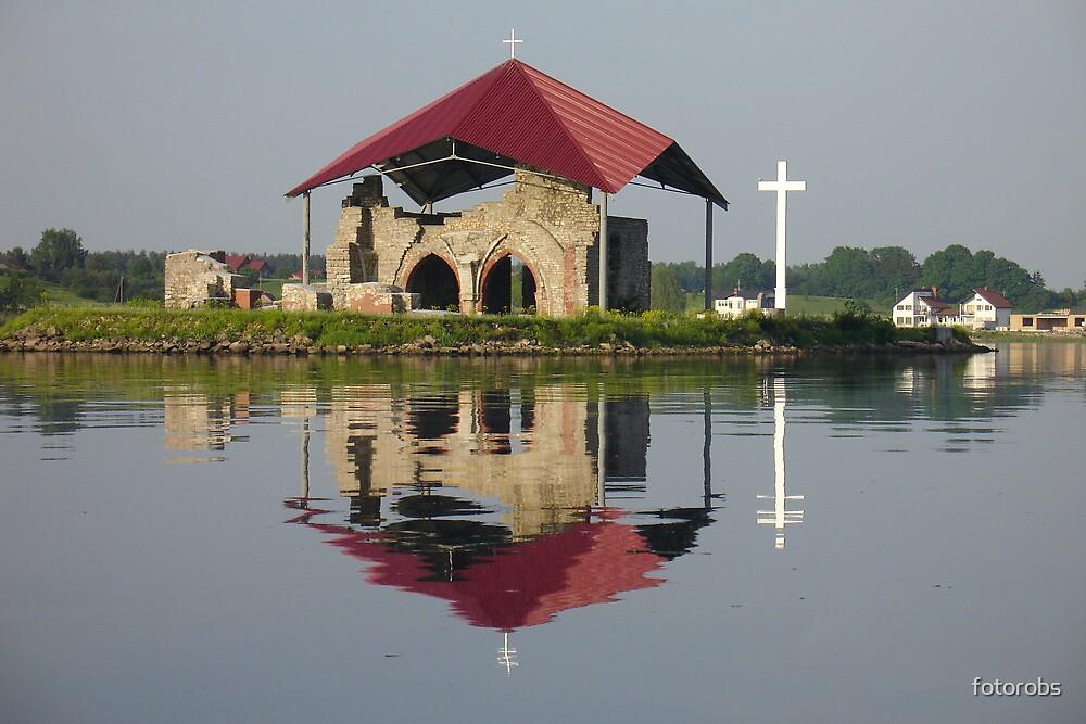 Ruins of church by fotorobs
