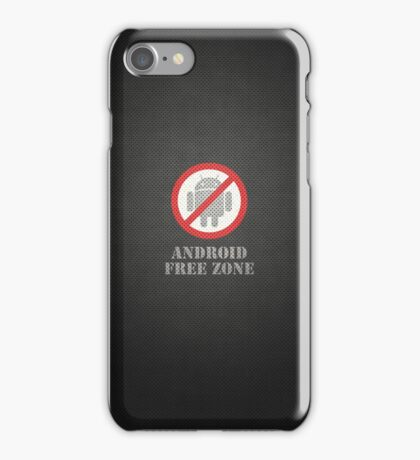 Android Free Zone iPhone Case/Skin
