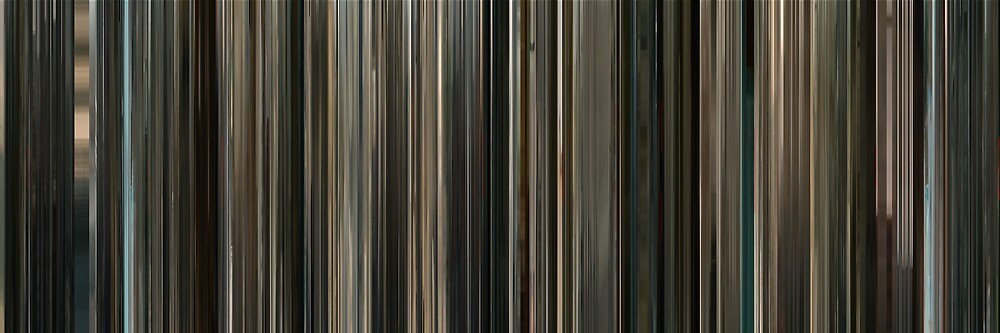 Moviebarcode: Incendies (2010) by moviebarcode