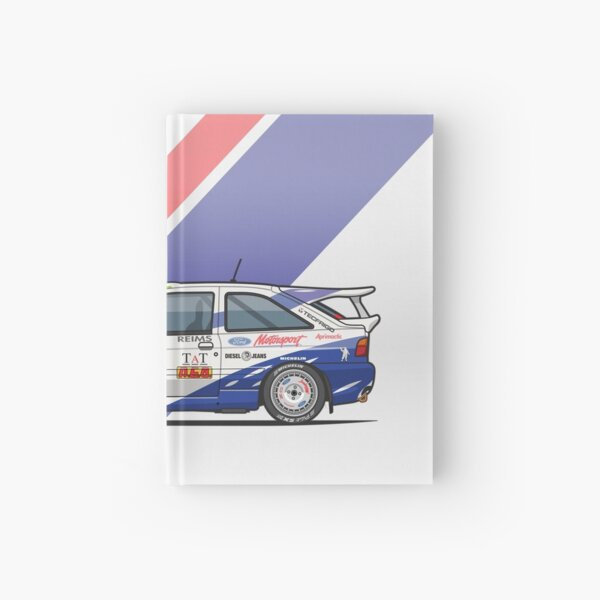 F0rd Escort Mk5 RS Cosworth Group A Rally Monte Carlo (1994) Hardcover Journal