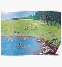 """Sitting Ducks"" Poster"