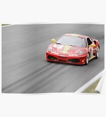 Ferrari Challenge Cup in Montreal 2011 Poster