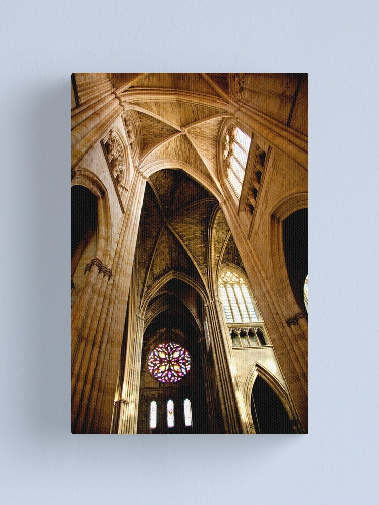 Alternate view of St. Andre Cathedral, Bordeaux 2011 Canvas Print