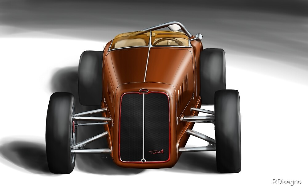 Hot Rod Reinhold FineArt by RDisegno