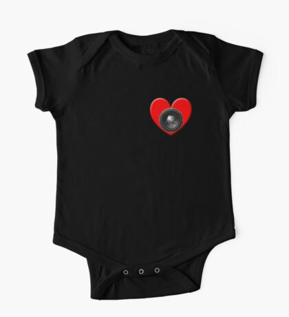 Subwoofer Heart Kids Clothes