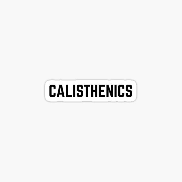 Calisthenics Sticker