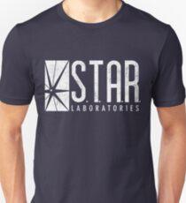 STAR Labs - White - Grunge Unisex T-Shirt