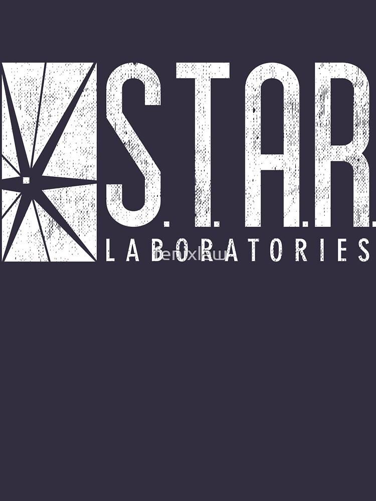 STAR Labs - White - Grunge | Unisex T-Shirt