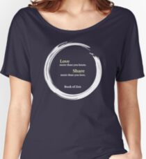 Inspirational Quote About Love Women's Relaxed Fit T-Shirt