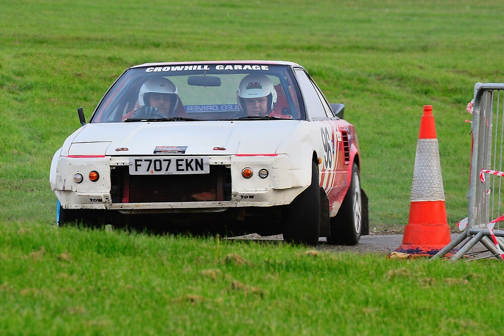 Regency Stages Toyota MR2 No 96 by Willie Jackson