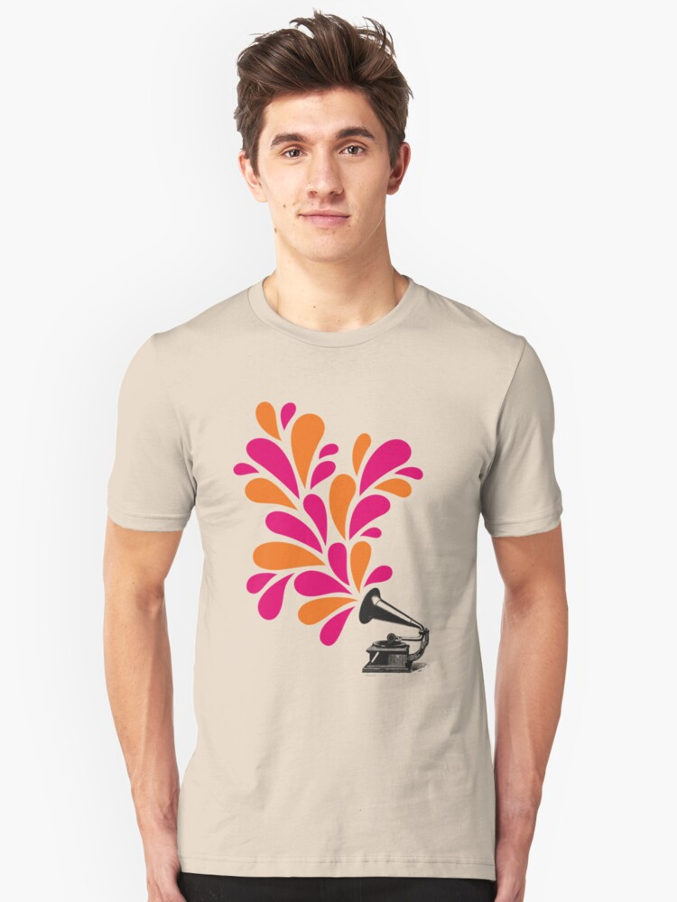 Groove is in the Art Unisex T-Shirt Front