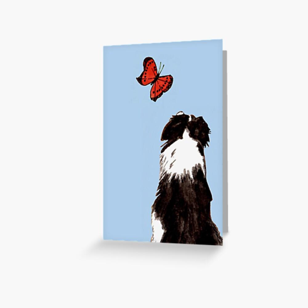 Friendly Fascination - Blank Greeting Card Greeting Card