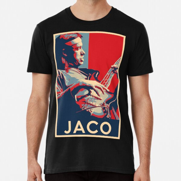 Jaco Pastorius Hope Poster - Sizes of Jazz Musician History Premium T-Shirt