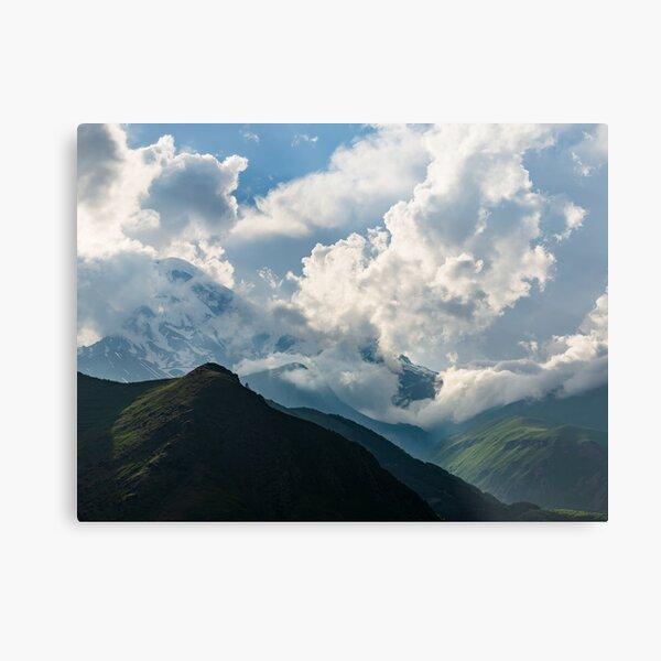 Caucasus Mountains Metal Print