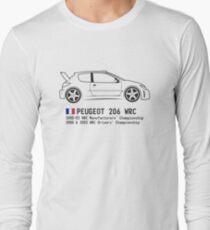 Rally Legends - Peugeot 206 WRC Long Sleeve T-Shirt