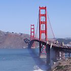 Golden Gate Bridge by Barrie Woodward