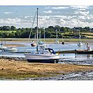 Boats at Red Wharf bay by Jenny1611