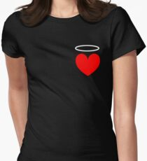 Haven's Heart Womens Fitted T-Shirt