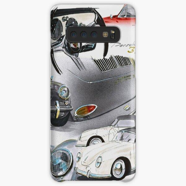 Porsche 356 History Samsung Galaxy Snap Case