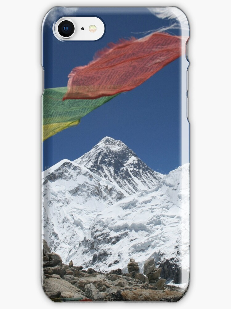 Everest iPhone Case by Jan Vinclair