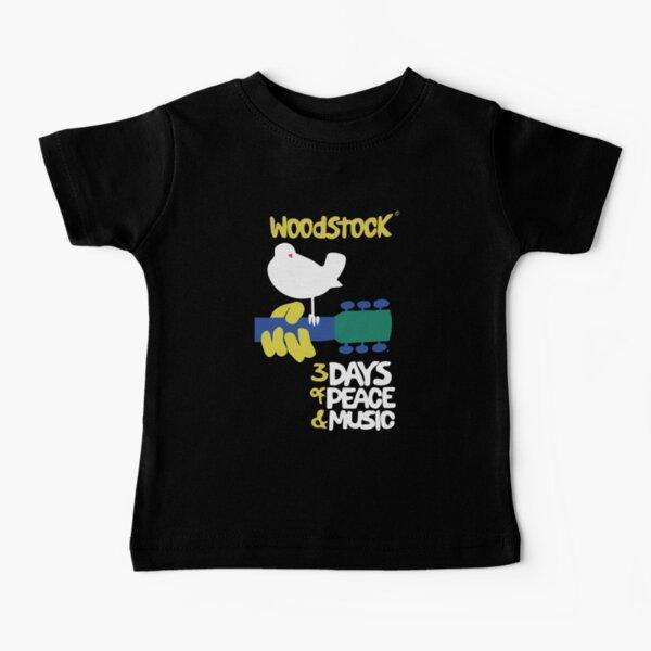 Woodstock 1969 - Black background Baby T-Shirt